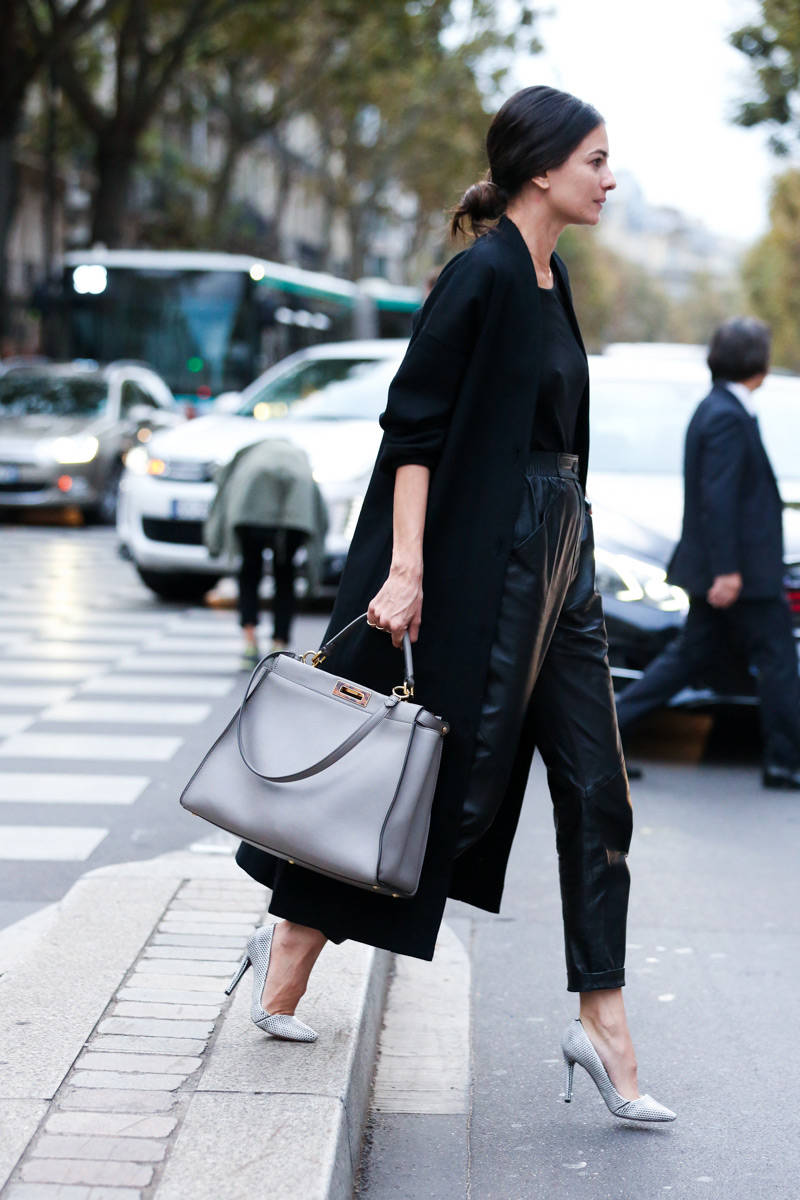 Paris Fashion Week Spring 2015 Street Style 83 Minimal