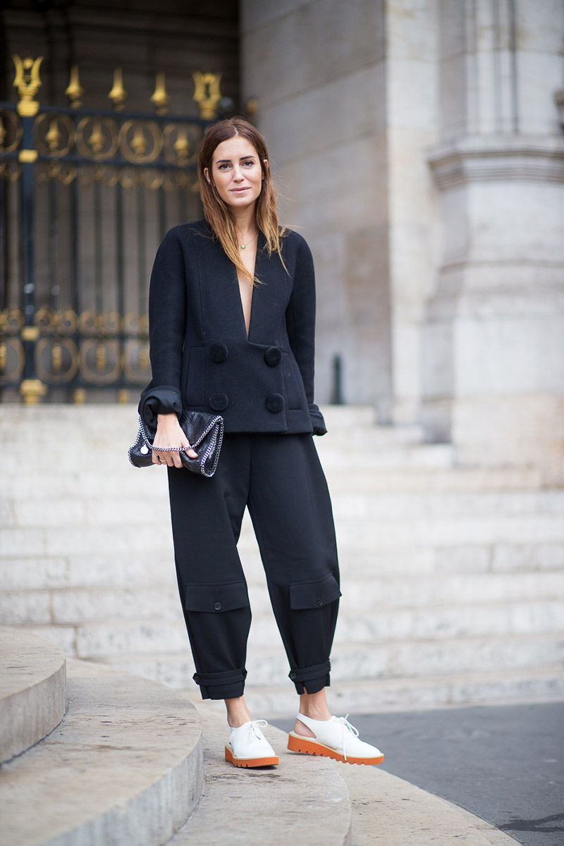 Paris Fashion Week Spring 2016 Street Style 109