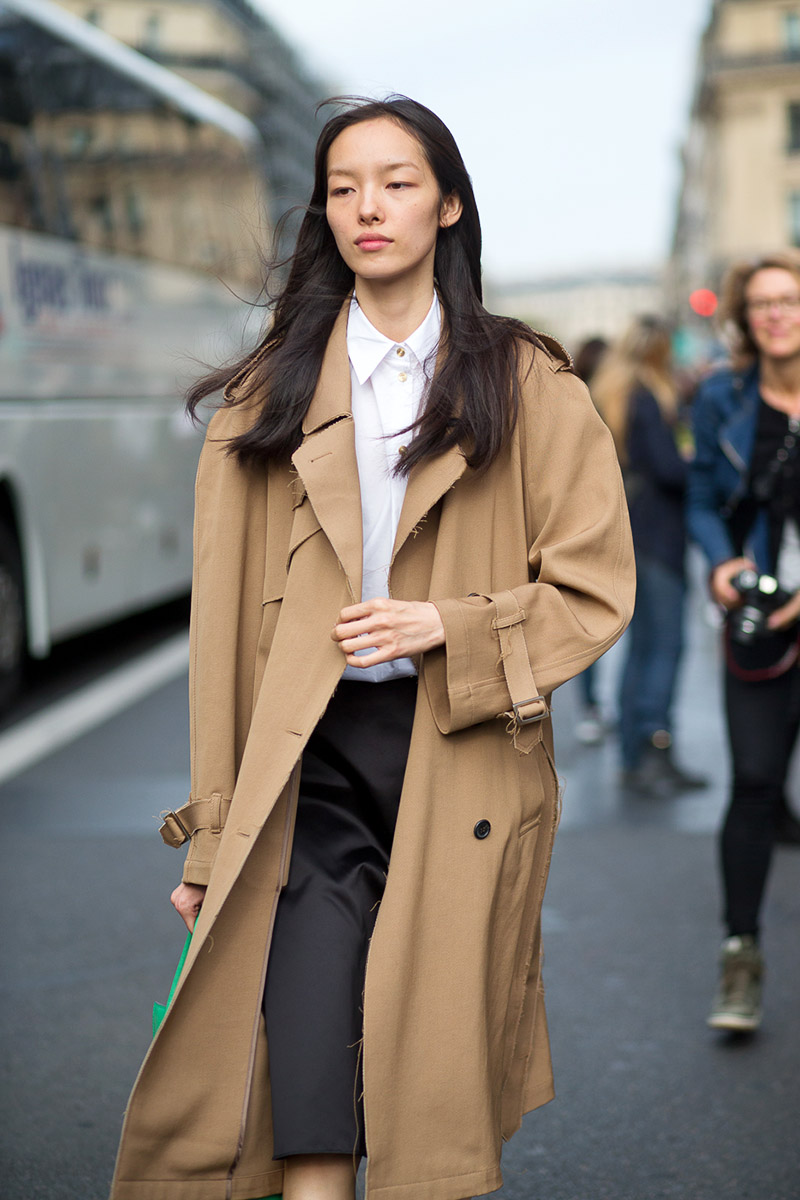 Paris Fashion Week Spring 2016 Street Style 22 Minimal