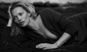 Kate Moss By Peter Lindbergh For Naked Cashmere Fall 2016 Ad Campaign