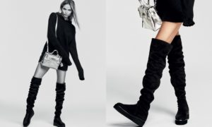 Natasha Poly by Erik Torstensson for Kurt Geiger Fall-Winter 2016-2017 Ad Campaign