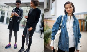 London Fashion Week Spring 2017 Street Style