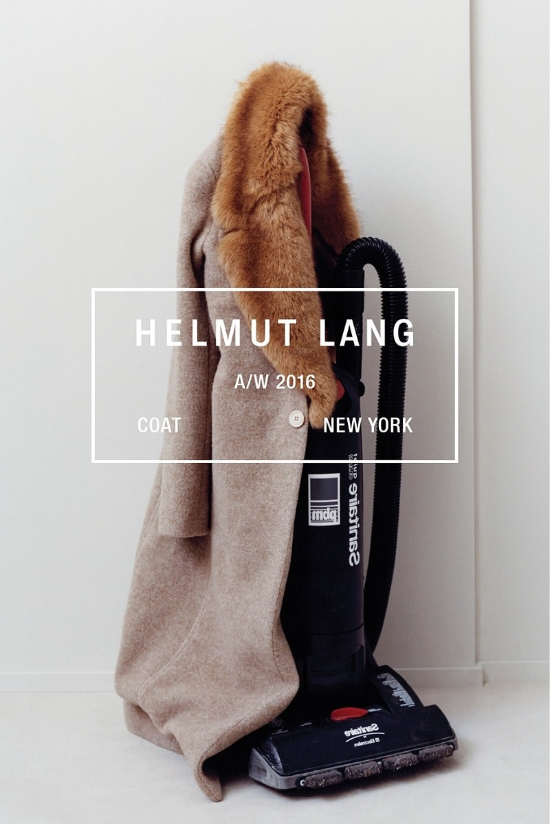 Helmut Lang Fall-Winter 2016-2017 Ad Campaign