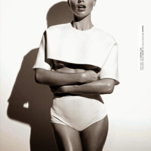 ADRIANA LIMA FOR INTERVIEW GERMANY APRIL 2014