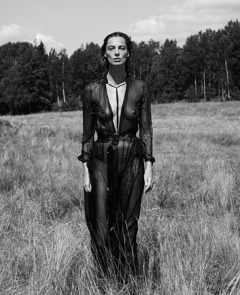 Daria Werbowy for Interview September 2014 by Mikael Jansson (11)