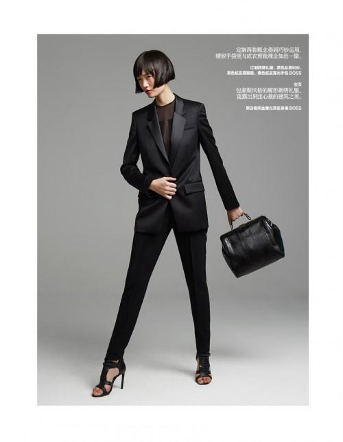 Harper's Bazaar China September 2014_Qi Wen_Zhang Chao (8)