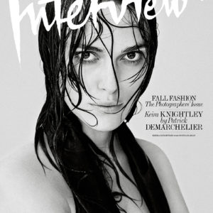6 Covers Of Interview Magazine September 2014