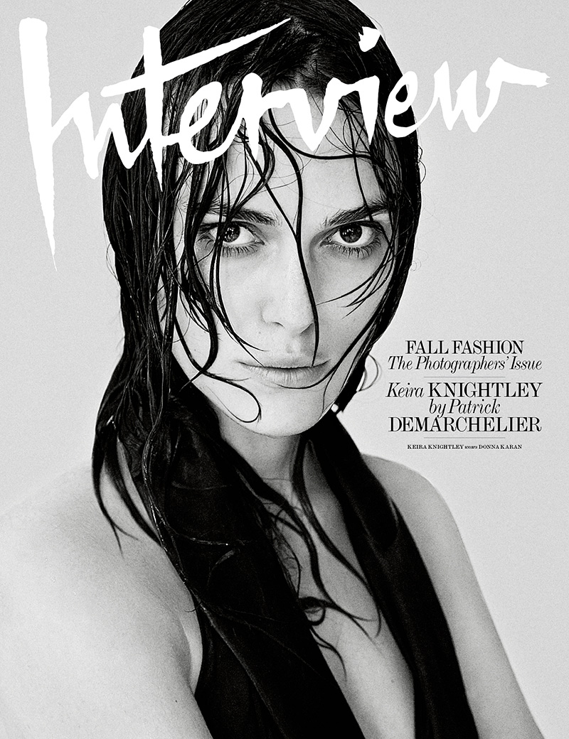 Keira Knightley Covers Interview Magazine September 2014