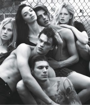 SUPER NORMAL SUPERMODELS FOR W MAGAZINE SEPTEMBER 2014