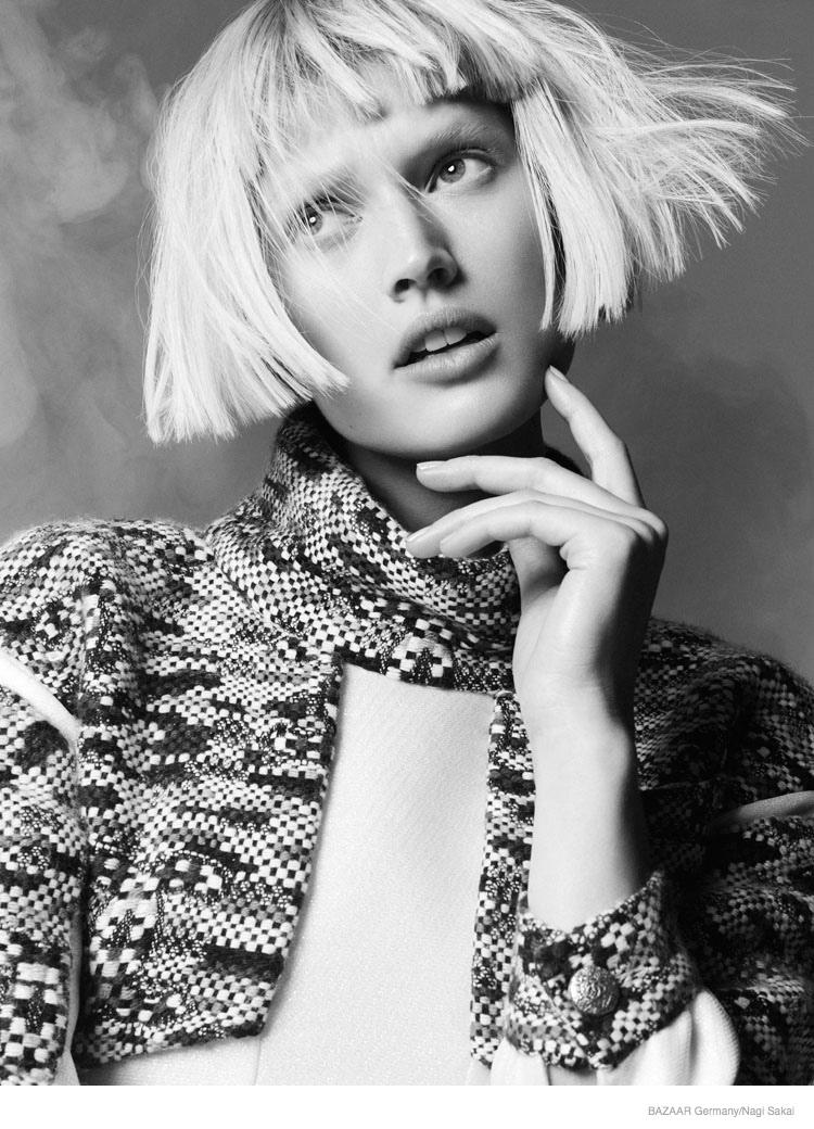 Toni Garrn For Harper's Bazaar Germany September 2014 (4)