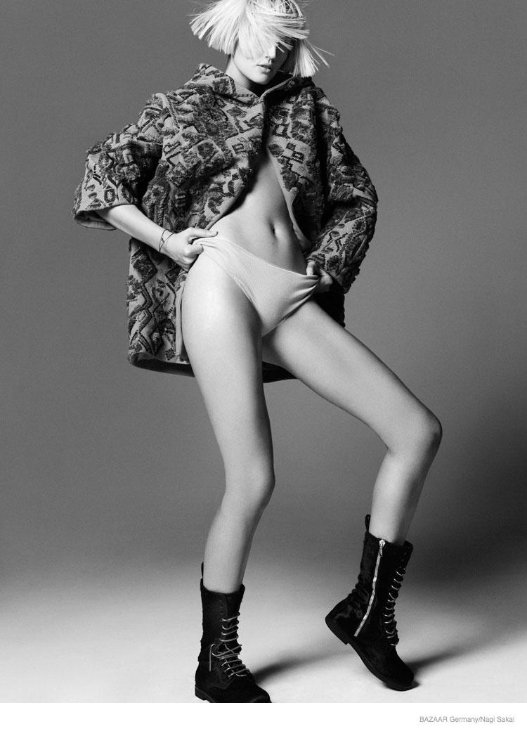 Toni Garrn For Harper's Bazaar Germany September 2014 (5)