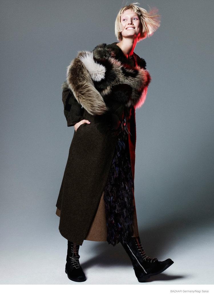 Toni Garrn For Harper's Bazaar Germany September 2014 (6)