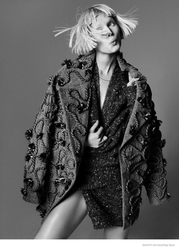 Toni Garrn For Harper's Bazaar Germany September 2014 (9)