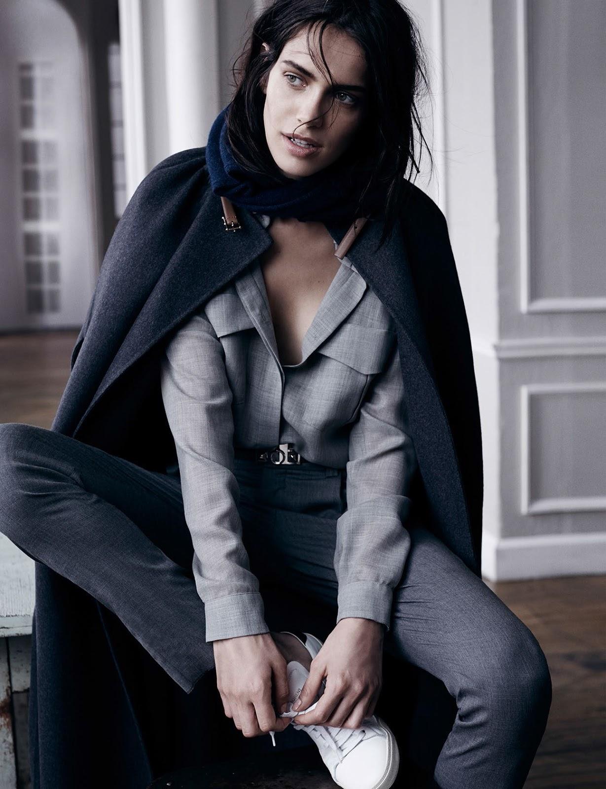 Amanda Wellsh for Vogue Spain September 2014 by Benny Horne (1)
