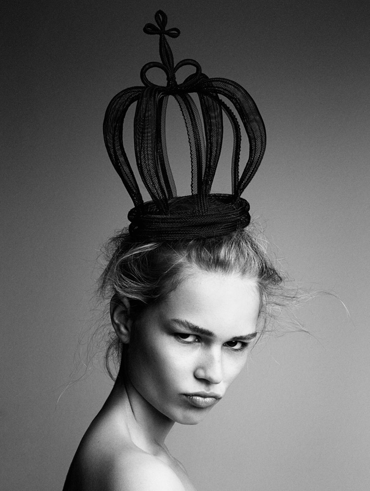 Anna Ewers By Patrick Demarchelier for Interview September 2014 (1)