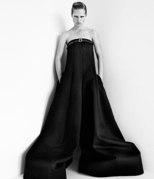 ANNA EWERS BY PATRICK DEMARCHELIER FOR INTERVIEW