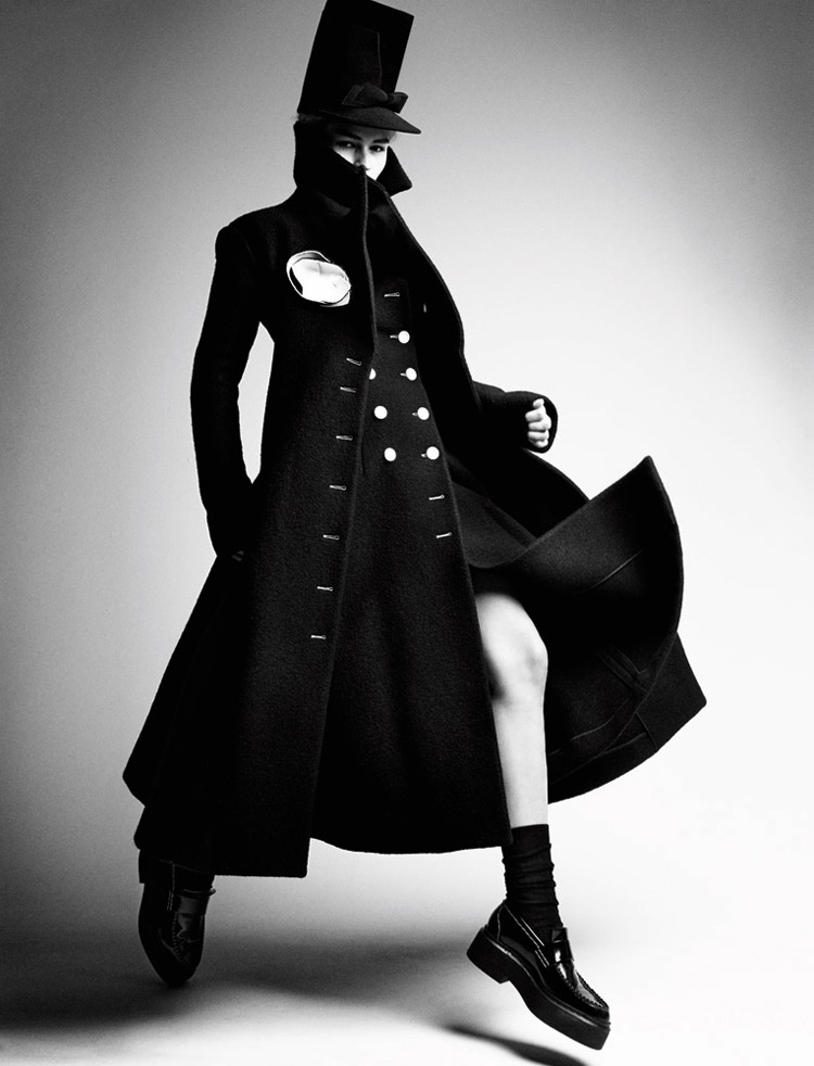 Anna Ewers By Patrick Demarchelier for Interview September 2014 (7)