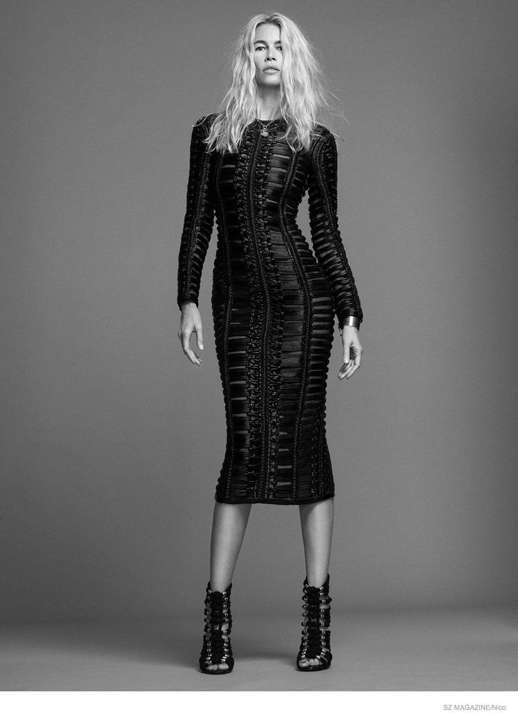 Claudia Schiffer for SZ September 2014 (4)