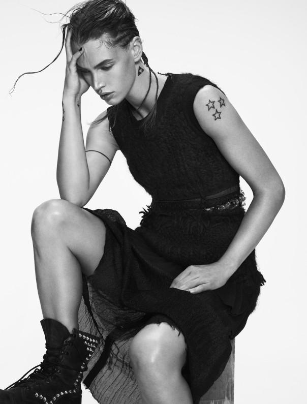Crista Cober for Vamp Magazine No.2 by Santiago & Mauricio Sierra (7)