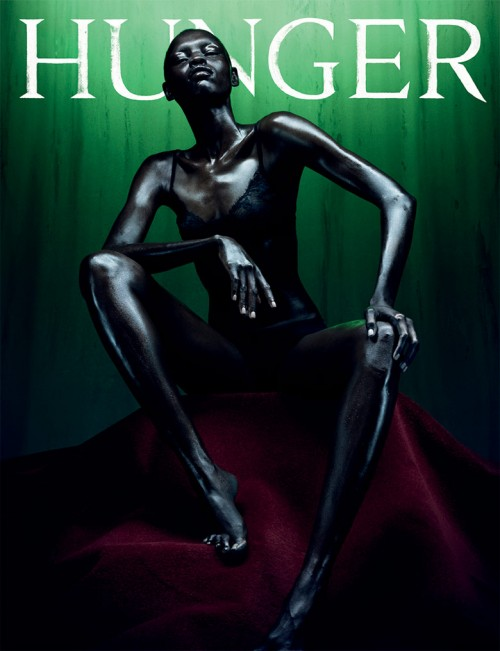 Grace Bol Hunger Magazine 7 Covers by Rankin