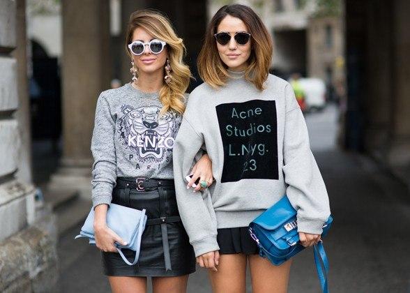 London Fashion Week Spring 2015 Street Style 2
