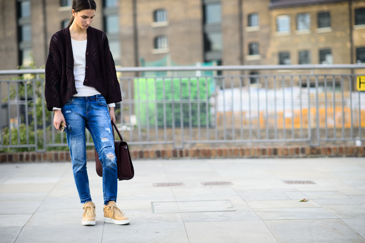 London Fashion Week Spring 2015 Street Style 35