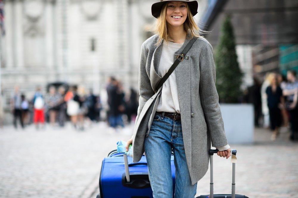 London Fashion Week Spring 2015 Street Style 6 Minimal