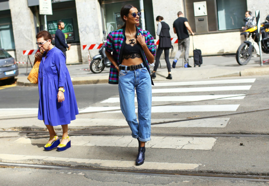 Milan Fashion Week Spring 2015 street style