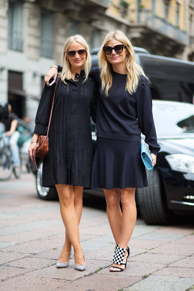 Milan Fashion Week Spring 2015 Street Style 45 Minimal Visual
