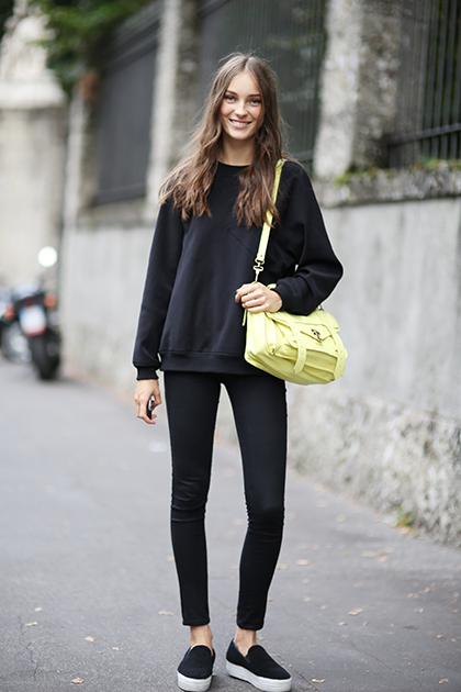 Milan Fashion Week Spring 2015 Street Style 56