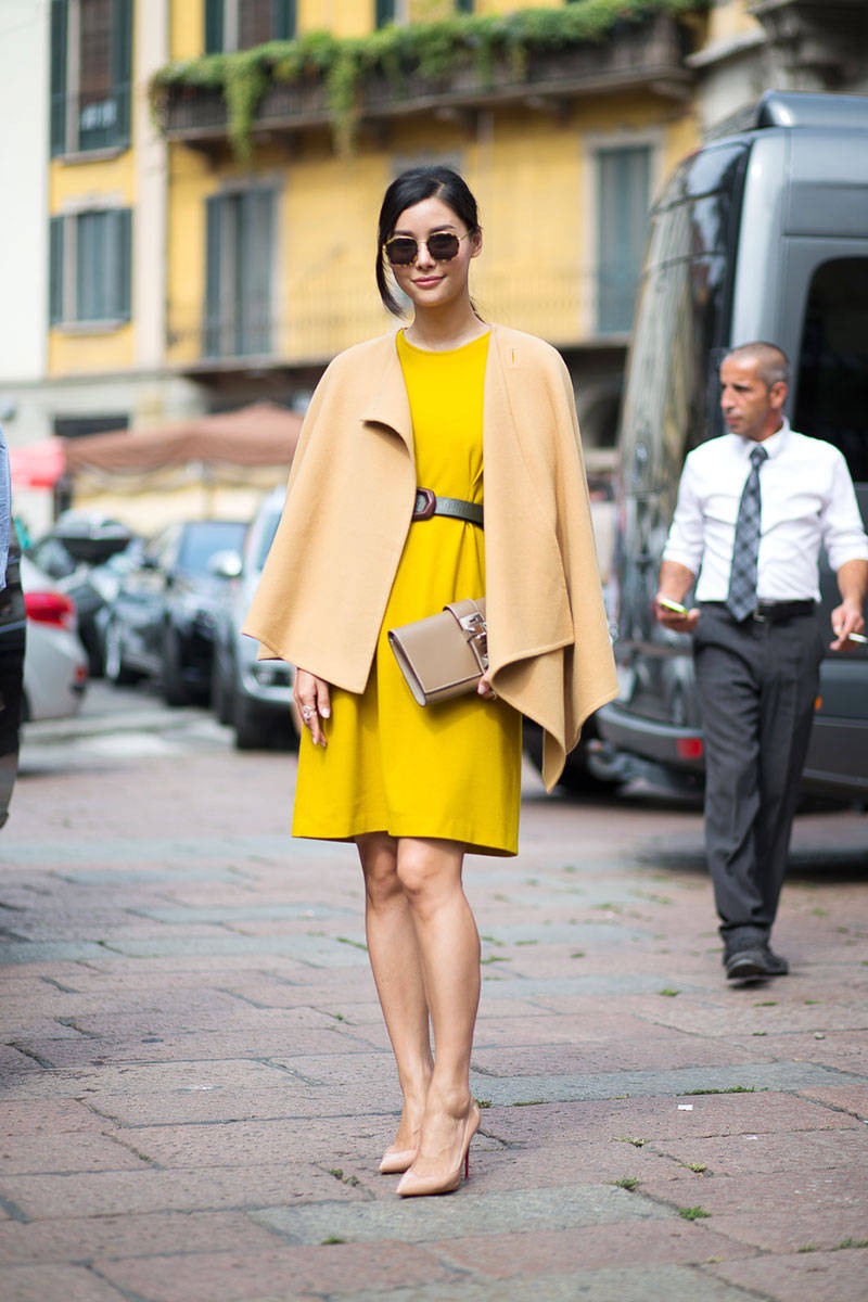 Milan Fashion Week Spring 2015 Street Style 60 Minimal Visual