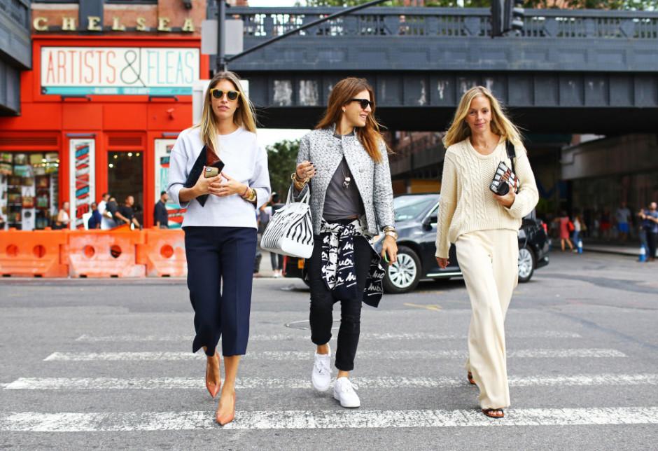 New York Fashion Week Spring 2015 Street Style Nyfw Spring 2015 Models Street Style 13