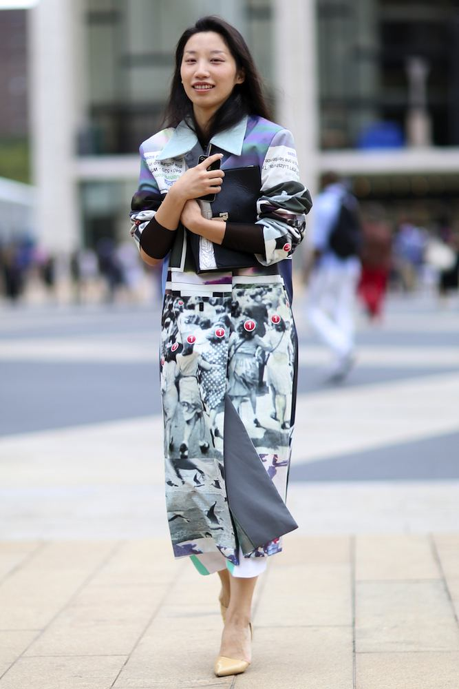 New York Fashion Week Spring 2015 Street Style Nyfw Spring 2015 Models Street Style 53