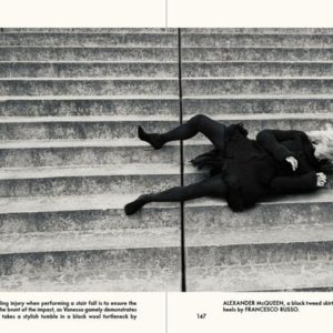 THE STUNTWOMAN VANESSA WIEDUWILT FOR THE GENTLEWOMAN AW 2014