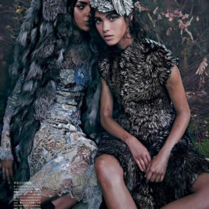 VOGUE JAPAN OCTOBER 2014 INTO THE WOODS