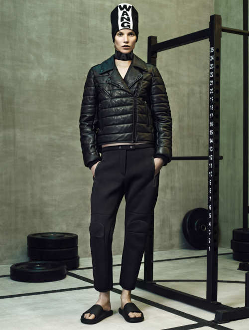 ALEXANDER WANG x H&M NEW COLLECTION LOOKBOOK (6)
