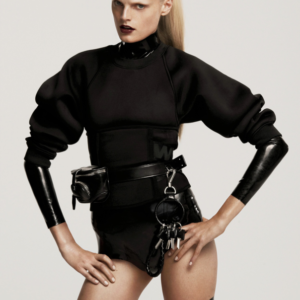 Alexander Wang & Hanne Gaby Odiele for Elle US October 2014