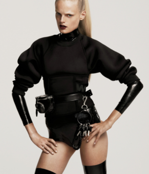 Alexander Wang & Hanne Gaby Odiele for Elle US October 2014