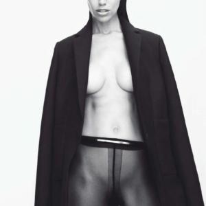 Amanda Wellsh Topless For Lui Magazine October 2014