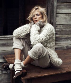 ANJA RUBIK FOR VOGUE PARIS OCTOBER 2014