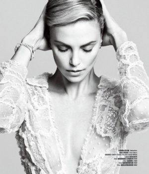 CHARLIZE THERON FOR HARPER'S BAZAAR CHINA OCTOBER 2014