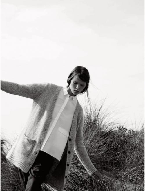 Elle UK October 2014 the new puritan Josefien Rodermans, Luke Powell (12)