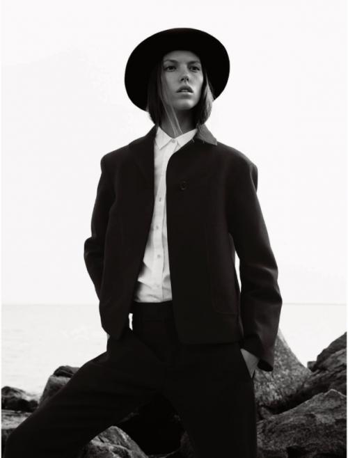 Elle UK October 2014 the new puritan Josefien Rodermans, Luke Powell (6)
