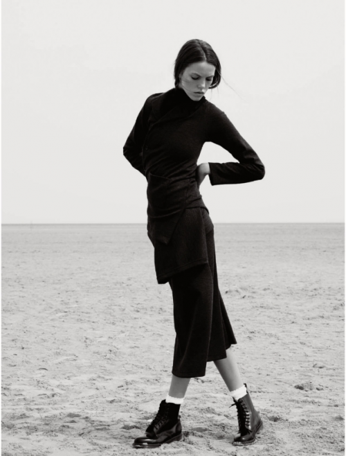 Elle UK October 2014 the new puritan Josefien Rodermans, Luke Powell (8)
