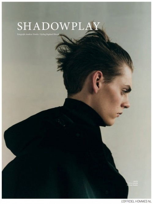 L'Officiel Hommes Netherlands FW 2014 Shadowplay (1)
