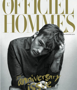 L'OFFICIEL HOMMES ITALIA FW 2014 COVERS