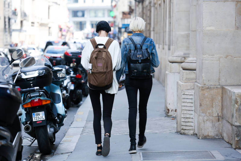 Paris Fashion Week Spring 2015 Street Style