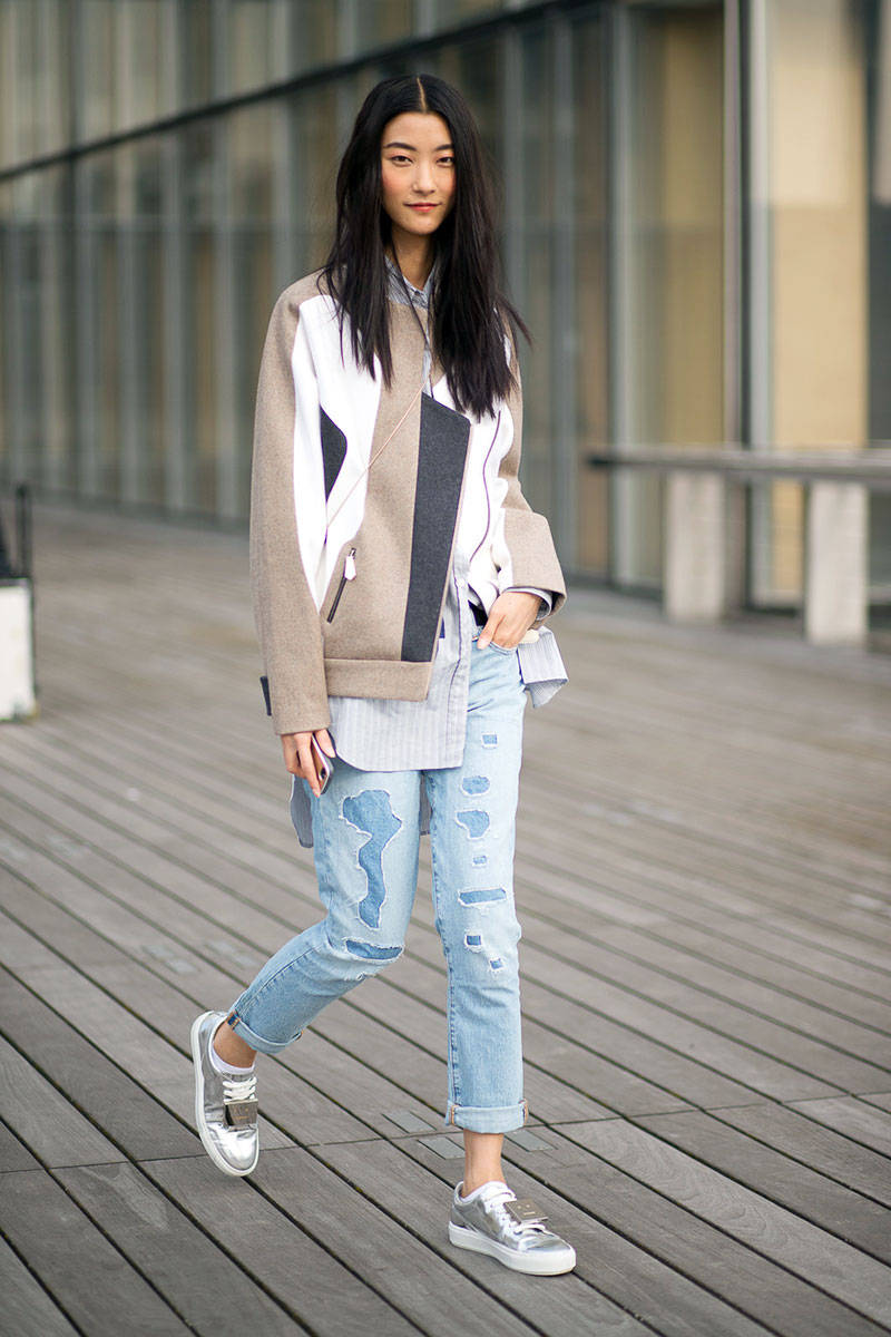 Paris Fashion Week Spring 2015 Street Style 75 Minimal