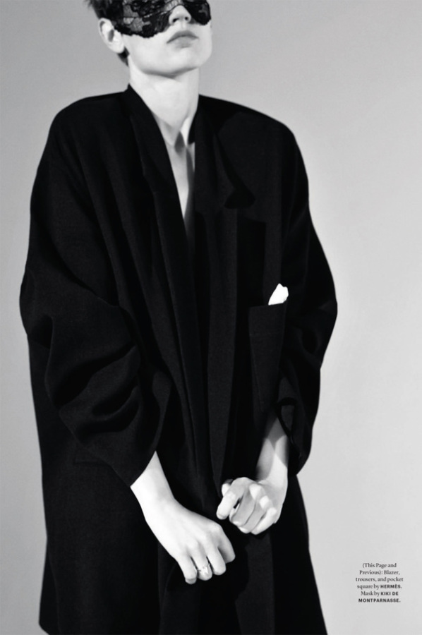 Saskia de Brauw by Collier Schorr for Document Journal Fall-Winter 2014-2015 (1)