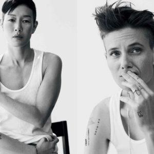 Women Modeling As Male Models For Modern Weekly